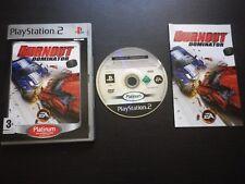 JEU Sony PlayStation 2 PS2 BURNOUT DOMINATOR (courses auto COMPLET envoi suivi)