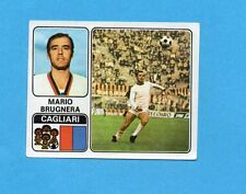 FIGURINA PANINI 1972/73-n.73- BRUGNERA - CAGLIARI -Recuperato