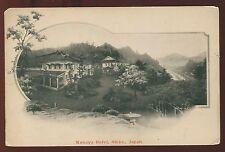 Early Japan Photo Postcard Kanaya Hotel Nikko  B3985