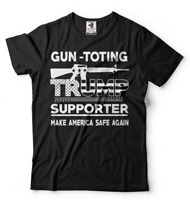 Donald Trump President T Shirt 2nd Amendment Patriotic Pro Gun Trump T shirt