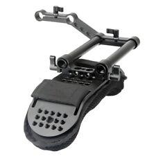 NICEYRIG Shoulder Pad with 15mm Railblock /Aluminum Alloy Rods for Shoulder Rig