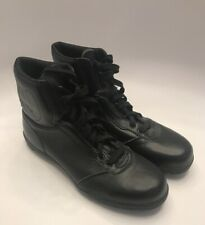 Vintage Football Turf Cleats Composite Steel Toe Sz 12 Black High Top Lace Up