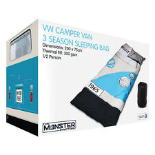 VW Camper Van 3 Season Single Sleeping Bag / Blanket - Officially Licensed