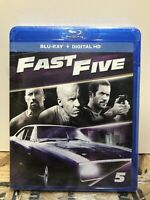 Fast & Furious 5 Blu-ray Dwayne Johnson NEW