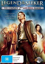 LEGEND OF THE SEEKER Season 2 (Region 2 UK Compatible) DVD The Complete Series