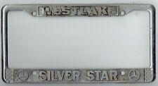 RARE Westlake California Silver Star Mercedes Benz Vintage License Plate Frame