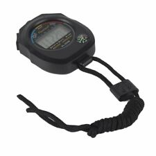 Waterproof Digital LCD Stopwatch Chronograph Timer Sports Alarm Counter PF