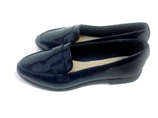 Women Ladies Flat Low Heel Ballerina Blue Formal Comfort Shoes 7.5 US Size 38Eur