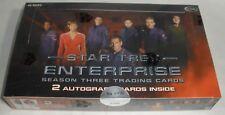 Star Trek Enterprise season Three Treading Cards Factory Sealed Box 6495/8000