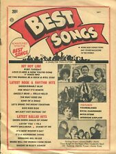 BEST SONGS MAGAZINE - MAY 1967 - VOLUME 26, NUMBER 18
