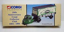 CORGI'S COLLECTOR'S CLUB 1994 -  SCAMMELL SCARAB - TRUCK 10th ANNIV. 84-94
