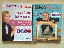 LOT 2 LIVRES VALERIE DAMIDOT DECO RECUP BRICOLAGE 2008 ILLUSTRE D&CO