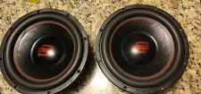 x2 DD Audio 12 Inch Redline 500 Series
