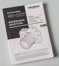 Bedienungsanleitung Olympus Digitalkamera E-420 E420 e420 Anleitung