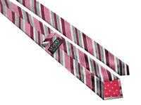 JEFF BANKS Mens Multi Multicoloured Striped Silk Necktie Tie > RRP £30