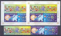 50 Jahre Europamarken, Cept, Flaggen - Bosnien - 419-422, Bl.27 A/B ** MNH 2005