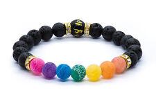 7 Chakra Bracelet. Christal Healing Stones. Jewellery Beads Natural Gift