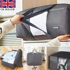 Large Storage Bags Zipped Underbed Clothes Pillows Bedding Quilts Duvets Laundry