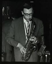 OLD JAZZ MUSIC PHOTO Derek Humble Playing Alto Saxophone 2