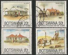 BOTSWANA 1997 FRANCISTOWN CENTENARY Sc#616-9 COMPLETE USED SET 2238