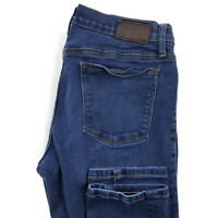 Henry And Belle Womens 26 Super Skinny Blue Stretch Jeans