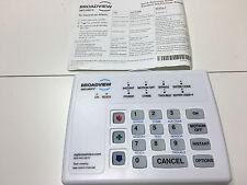 BRINKS broadview 8 Zone Security Alarm Keypad BHS 3111