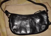 VIVA LA DIVA Black 100% Leather Small Bag AW 208