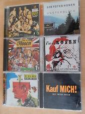6 x Die Toten Hosen -  CD Sammlung - Reich & Sexy, Unsterblich u.a. gut erhalten