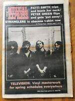 NME Newspaper February 5th 1977 Stranglers Cover