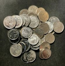 Old Cayman Islands Coin Lot - 40+ Excellent Scarce Coins - Lot #D2