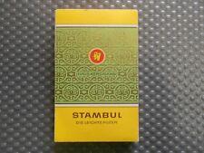 Stambul Haus Bergmann alte Zigarettenschachtel Attrappe (B3)