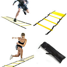 Adjustable Agility Speed Training Ladder for Football Soccer Cricket Gym Fitness