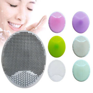 Silicone Wash Pad Exfoliating Blackhead Facial Cleansing Brush Face Beauty