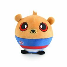 AFL Squishii Western Bulldogs Kids 10cm Footy Team Soft Collectible Toy 3y