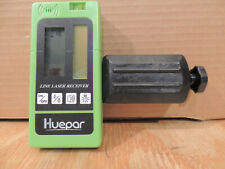 Huepar LR-5RG Laser Detector for Laser Level - Green and Red Beam Receiver for