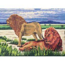 Kit Canevas Les Lions 15 x 20 cm REF bl0500.032