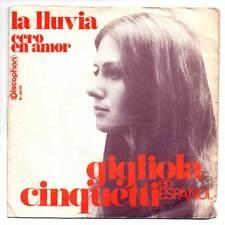 Gigliola Cinquetti - La lluvia / Cero en amor