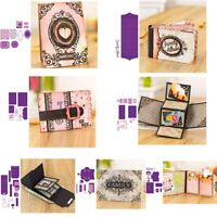 Gift Frame Card Envelope Metal Cutting Dies Stencils For DIY Scrapbooking