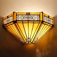 Tiffany Style Wall Sconce Light Sunflower Wall Washer Lamp - Room Hotel Corridor