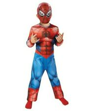 Marvel Spiderman Costume And Mask Age 5-6 Fancy Dress