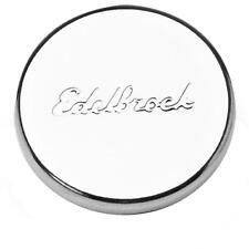 Edelbrock Engine Oil Filler Cap 4415; Chrome Steel