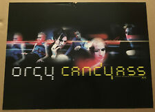 Orgy Rare 1998 Limited Promo Poster for Candyass Cd Usa 24x18 Never Displayed
