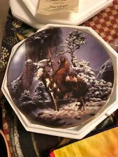 "8"" Hamilton Plate: The Last Warriors (Mystic Warriors) by Chuck Ren - 1992"