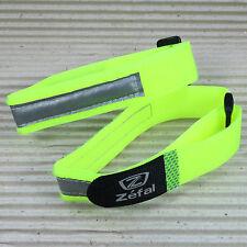 ZEFAL DOOWAH Hosenband - 2 Stück = 1 Paar - neon gelb mit Reflexstreifen