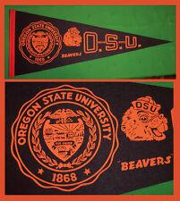 OLD Oregon State University Beavers Football Pennant! WOW!