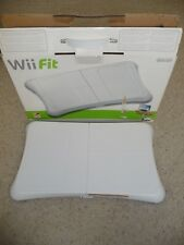Wii Fit Balance Board Nintendo Wii  RVL-021 w/ Fitness Exercise Work Out Disc