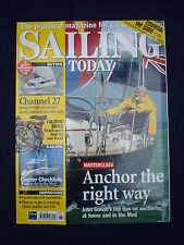 Sailing today - June 1999 - Hunter Channel 27 - Anchoring