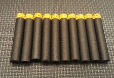Streamlines 100 Black Darts EKIND Waffle Hollow Work with Nerf Elite Blasters
