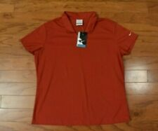 New listing Women's NIKE GOLF DRI FIT Red Polo Shirt Size XL NWT