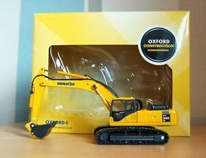 Oxford Diecast / Oxford Construction 76KOM001 - Komatsu PC340LC Excavator